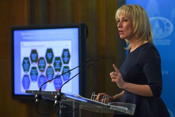"AFP/""Scanpix"" nuotr./Marija Zacharova"