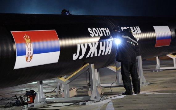 """AFP/""""Scanpix"""" nuotr./""""Pietų srauto"""" dujotiekis"""