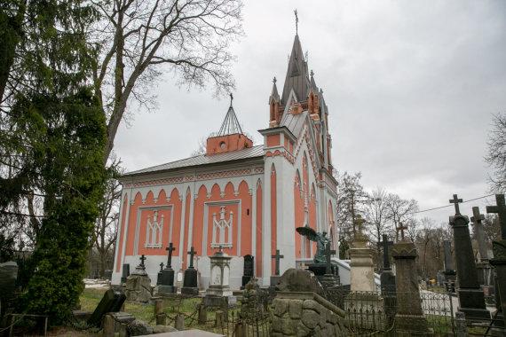 Juliaus Kalinsko / 15min nuotr./Koplyčia, kurioje įrengs kolumbariumą sukilimo vadams