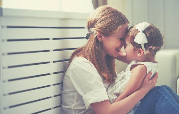 Fotolia nuotr./Mama ir vaikas