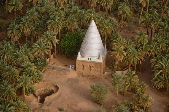 """""""Shutterstock"""" nuotr./Kapavietė-mauzoliejus, Sudanas, Afrika"""