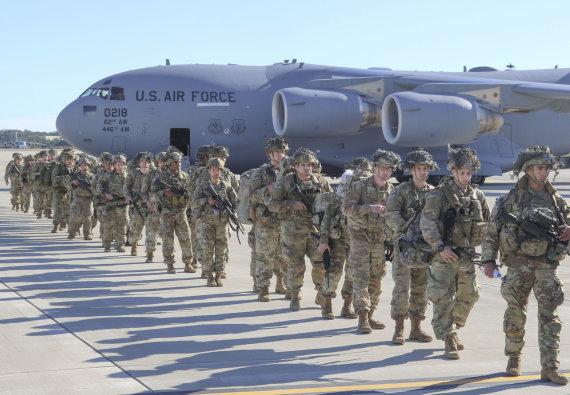 """""""Scanpix"""" nuotr./JAV kariai"""