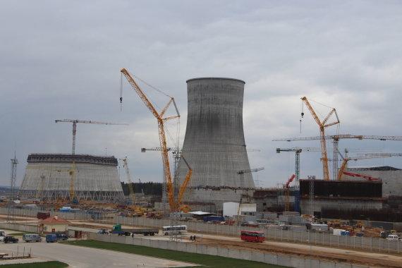 Mariaus Jokūbaičio nuotr./Astravo atominė elektrinė