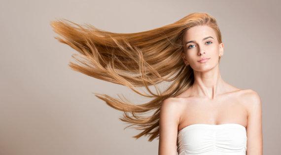 123RF.com nuotr./Žvilgantys plaukai
