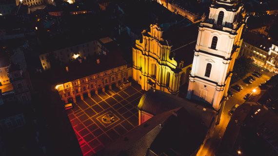 Organizatorių nuotr./Vilniaus universiteto Didysis kiemas