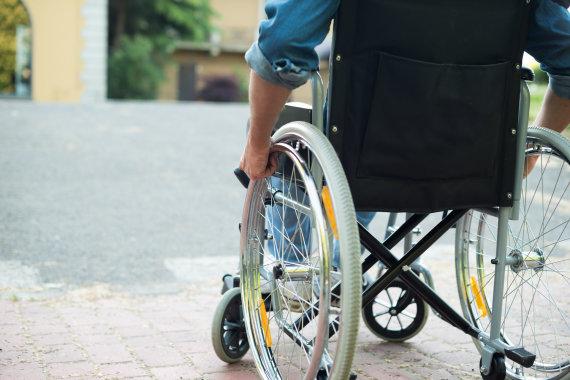 123RF.com nuotr./Neįgaliųjų vežimėlis