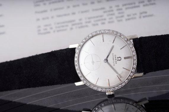 """""""Scanpix"""" nuotr./Elvio Presley laikrodis parduotas aukcione"""