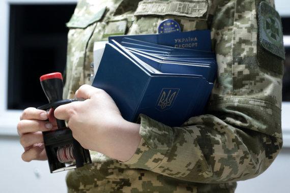 """""""RIA Novosti"""" nuotr./Ukrainietiški pasas"""