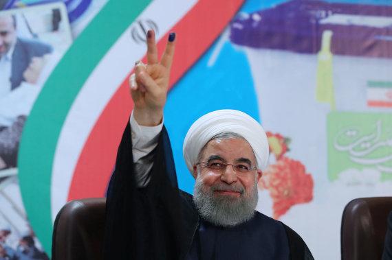 """Reuters""/""Scanpix"" nuotr./Hassanas Rouhani"