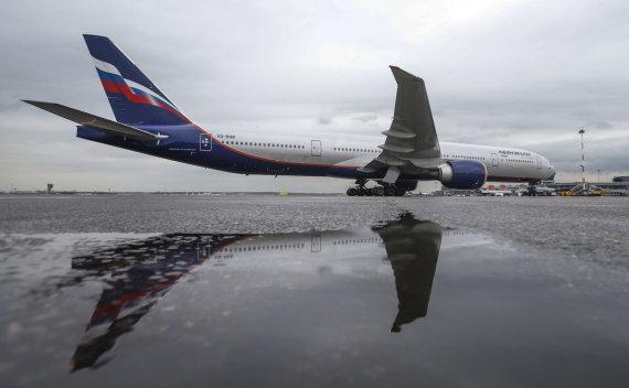 """""""Reuters""""/""""Scanpix"""" nuotr./""""Aeroflot"""" laineris"""