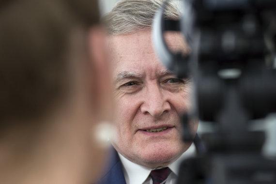 Vida Press nuotr./Lenkijos kultūros ministras Piotras Glínskis