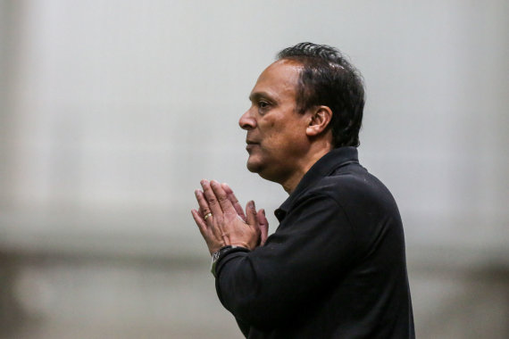 "Juliaus Kalinsko / 15min nuotr./""Stumbro"" treneris Mariano Barreto"