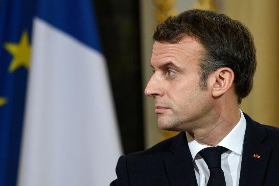 "AFP/""Scanpix"" nuotr./Emmanuelis Macronas"