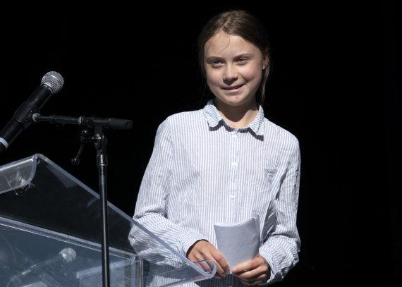 """Scanpix""/""PA Wire""/""Press Association Images"" nuotr./Greta Thunberg"