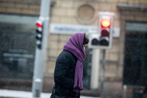 Juliaus Kalinsko / 15min nuotr./Snieguota žiema Vilniuje