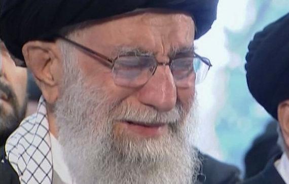 """""""Scanpix""""/AP nuotr./Ali Khamenei"""