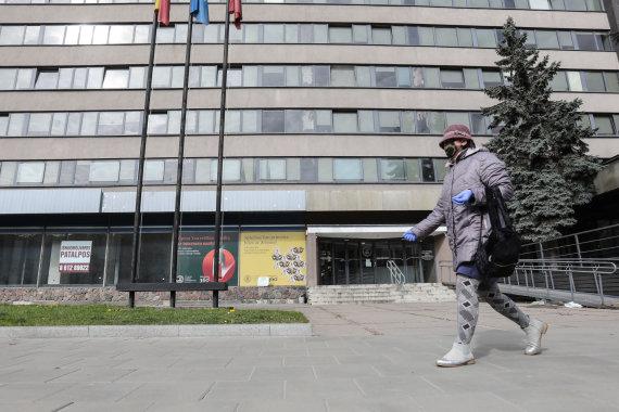 Eriko Ovčarenko / 15min nuotr./VDU bendrabutis Kaune
