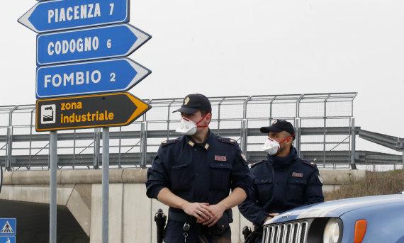 """""""Scanpix""""/AP nuotr./Italijos policija"""