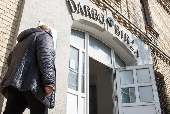 Luko Balandžio / 15min nuotr./Darbo birža