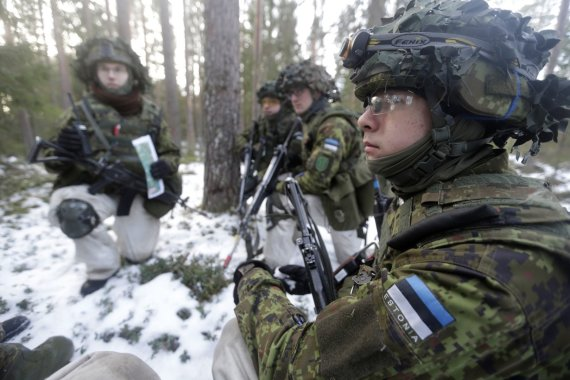 """""""Reuters""""/""""Scanpix"""" nuotr./Estijos šauktiniai"""