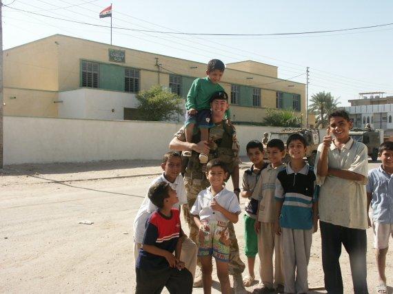 Asmeninio archyvo nuotr./Joe McMahonas Irake