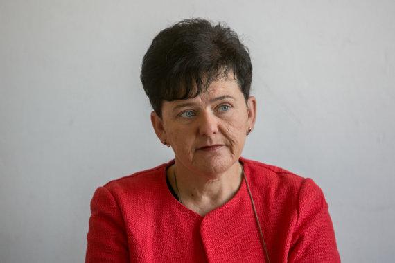 Juliaus Kalinsko / 15min nuotr./Kultūros paveldo departamento vadovė Diana Varnaitė