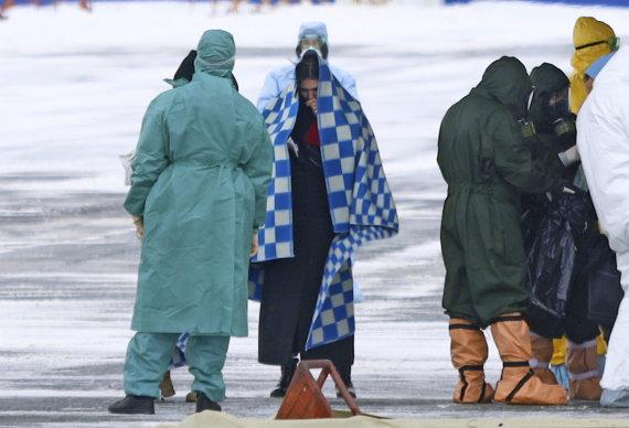"""""""Scanpix""""/AP nuotr./Iš Uhano į sanatoriją Sibire evakuoti rusai"""