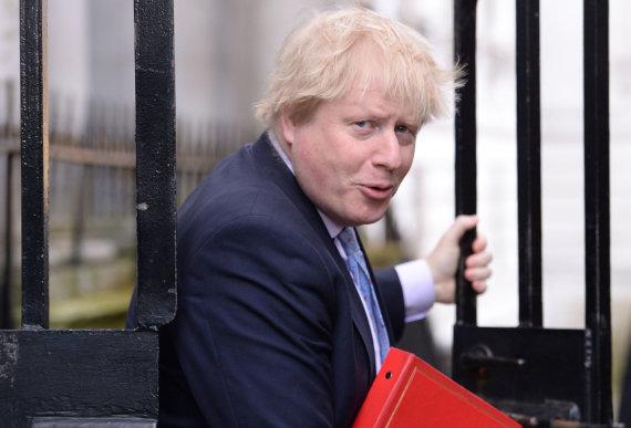 """Scanpix""/""PA Wire""/""Press Association Images"" nuotr./Borisas Johnsonas"