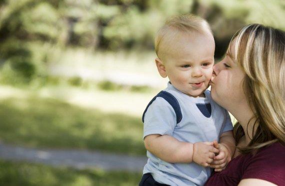 """Scanpix"" nuotr./Mama su vaiku"