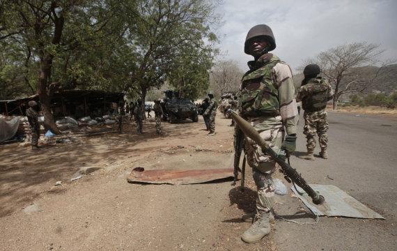"""Scanpix""/AP nuotr./Nigerijos kariai"