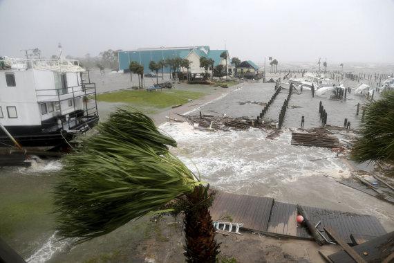 """""""Scanpix""""/AP nuotr./Florida po uragano"""