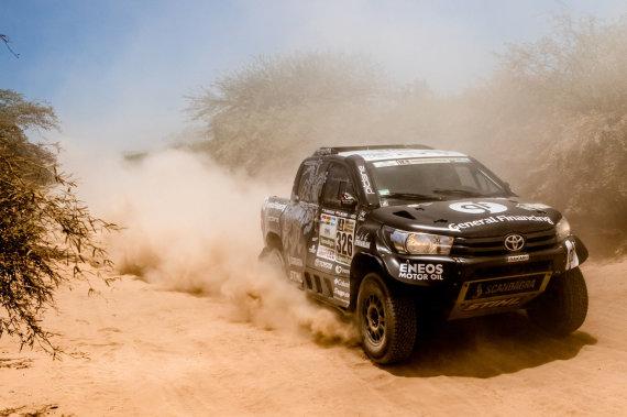 Marieno Chytka nuotr./Dakaro ralio 2 greičio ruožas