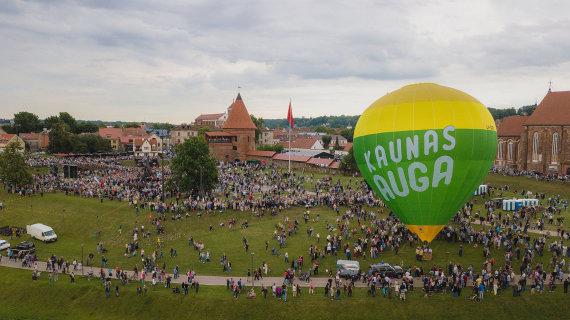 Kauno miesto savivaldybės nuotr./Kaunas auga