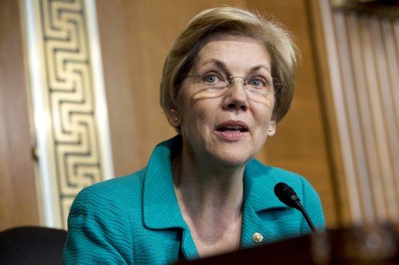 """""""Scanpix""""/AP nuotr./Elizabeth Warren"""