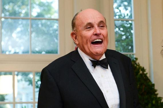 """Reuters""/""Scanpix"" nuotr./Rudy Giuliani"