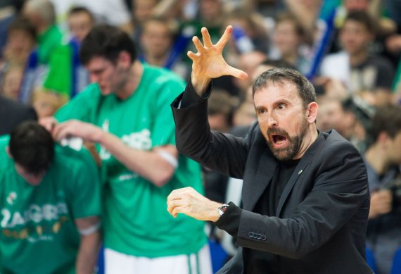 """Irmanto Gelūno / 15min nuotr./Joanas Plaza """"Žalgirio"""" krepšinio komandos treneris"""