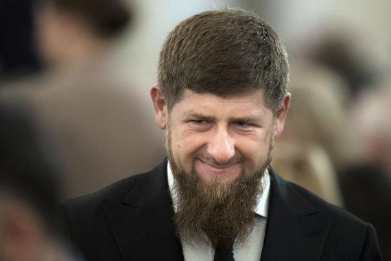 """""""Scanpix""""/AP nuotr./Ramzanas Kadyrovas."""