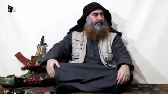 """""""Reuters""""/""""Scanpix"""" nuotr./Abu Bakras al-Baghdadi"""