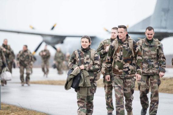 "AFP/""Scanpix"" nuotr./Prancūzijos kariai"