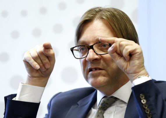 """""""Reuters""""/""""Scanpix"""" nuotr./Guyus Verhofstadtas"""
