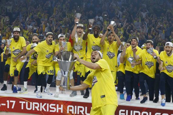 """""""Scanpix"""" nuotr./""""Fenerbahče"""" triumfas Eurolygos finale"""