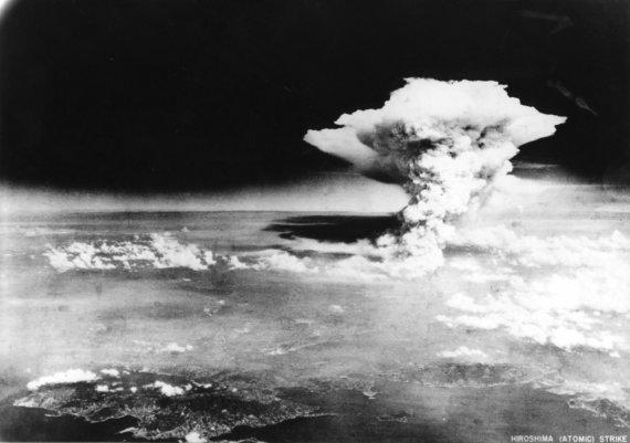 """""""Reuters""""/""""Scanpix"""" nuotr./Hirošima po atominės bombos sprogimo"""