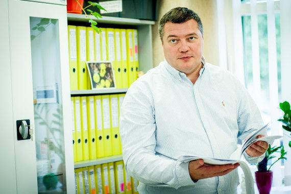 """Projekto partnerio nuotr./Klinikos """"Naujas regėjimas"""" direktorius Olegas Kovriguine"""