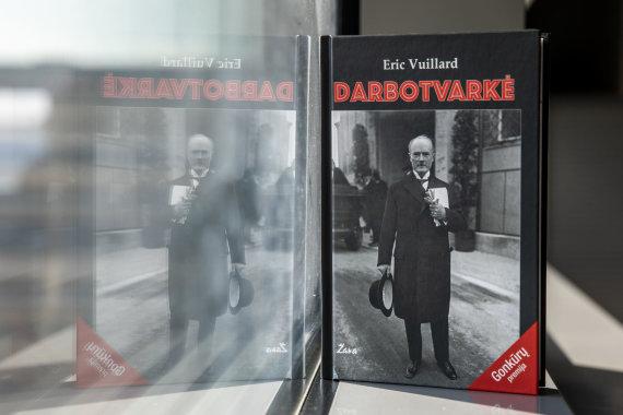 """Luko Balandžio / 15min nuotr./Erico Vuillardo knyga 'Darbotvarkė"""""""