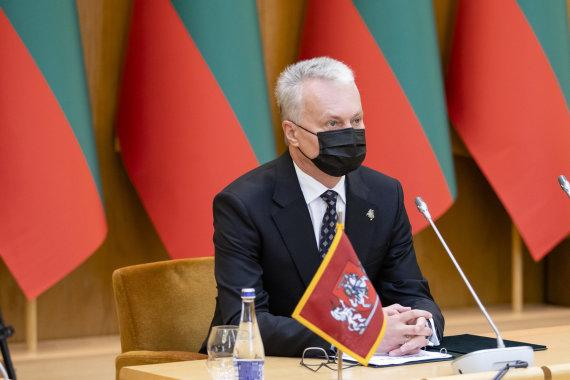 Luko Balandžio / 15min nuotr./Gitanas Nausėda