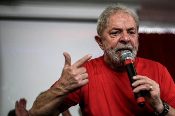 """Scanpix""/""Sipa USA"" nuotr./Luizas Inacio Lula da Silva"