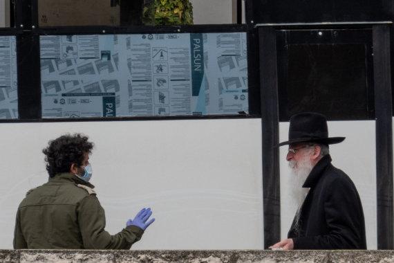 """Scanpix"" nuotr./Izraelis koronaviruso pandemijos metu"