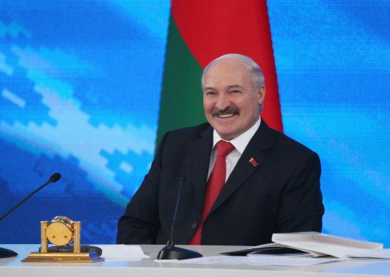 """Scanpix"" nuotr./Aliaksandras Lukašenka"
