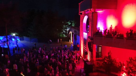 "Žilvino Bartkaus nuotr./Festivalio ""Pudra1444"" akimirka"