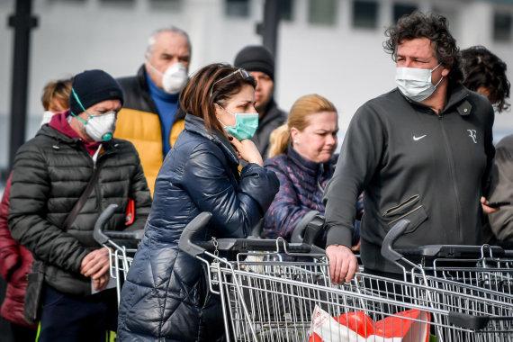 ZUMAPRESS.com nuotr./Koronavirusas siaučia ir Italijoje